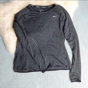 Nike Dri-Fit Long Sleeve Top w/Pocket